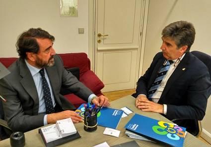 Reunión con Ignacio Cosidó
