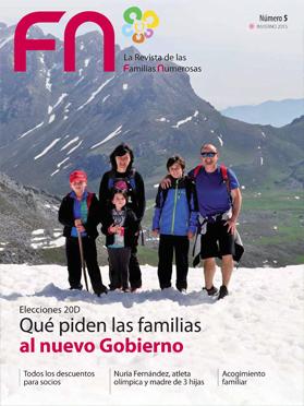 la revista de Familia Numerosas Invierno 2015