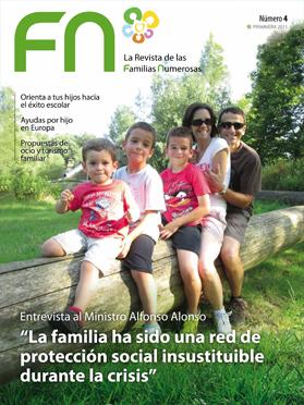 la revista de Familia Numerosas Primavera 2015