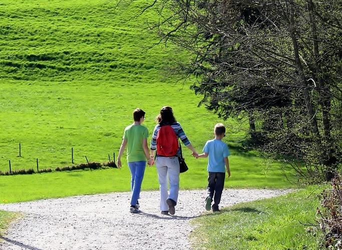 Monoparentales con 2 hijos